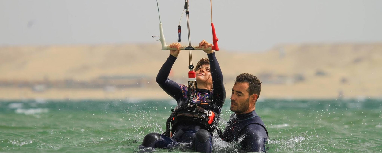 Cover for Introduction to kitesurfing in Almería