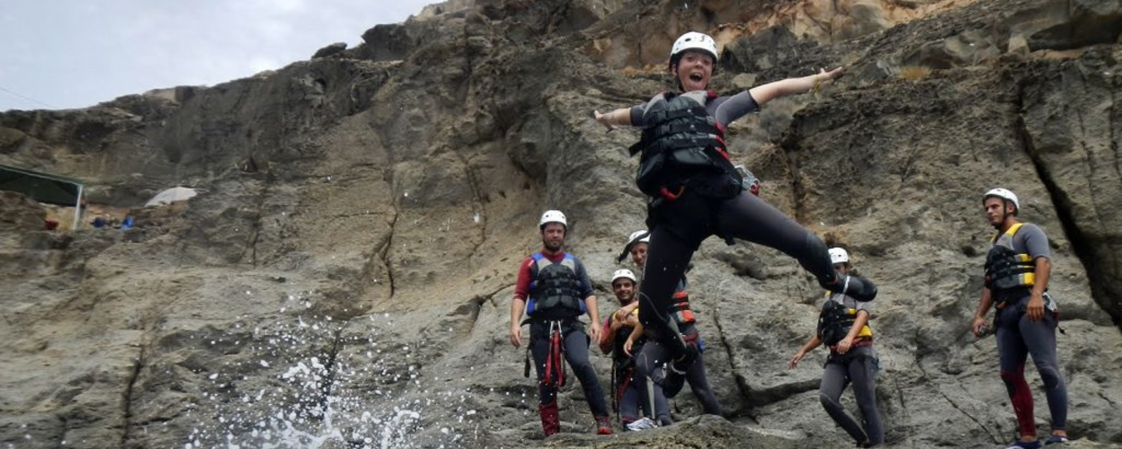 Cover for Coasteering in Gran Canaria