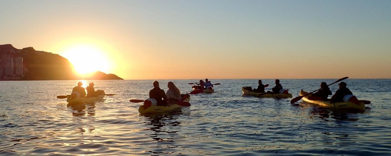 Cover for Kayak tour in Benidorm to the island