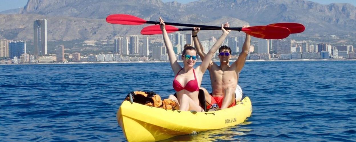 Cover for Coastal kayaking in Benidorm