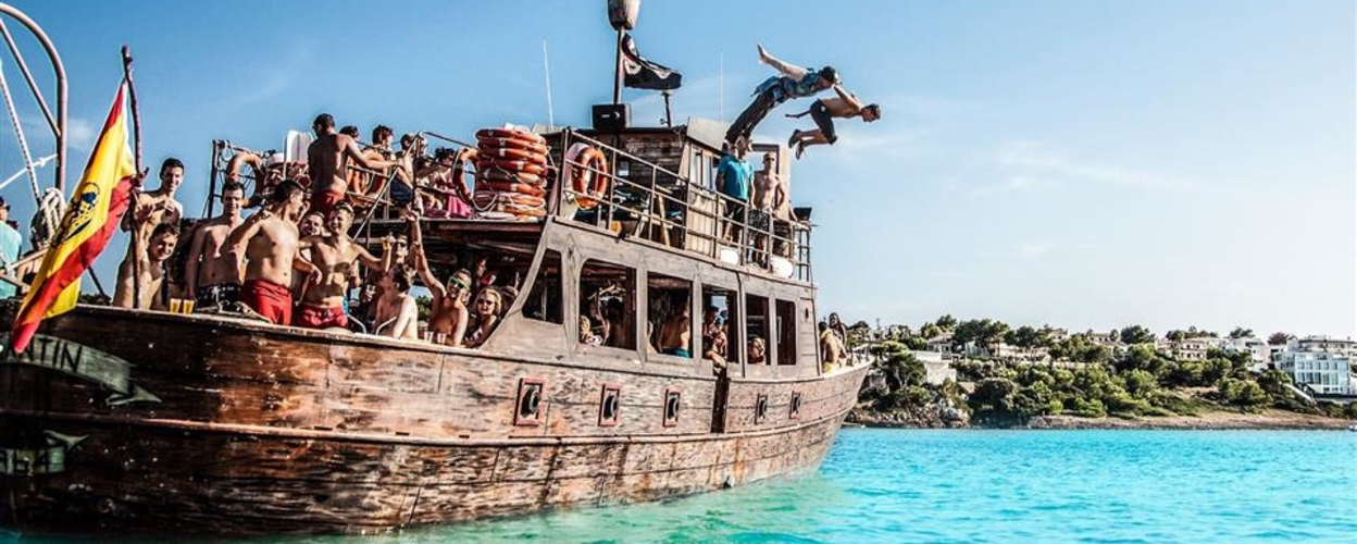 Cover for Boat Party in Mallorca