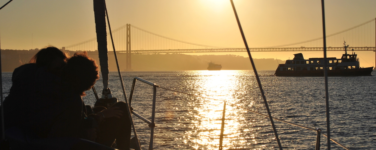 sailing in Lisbon for two