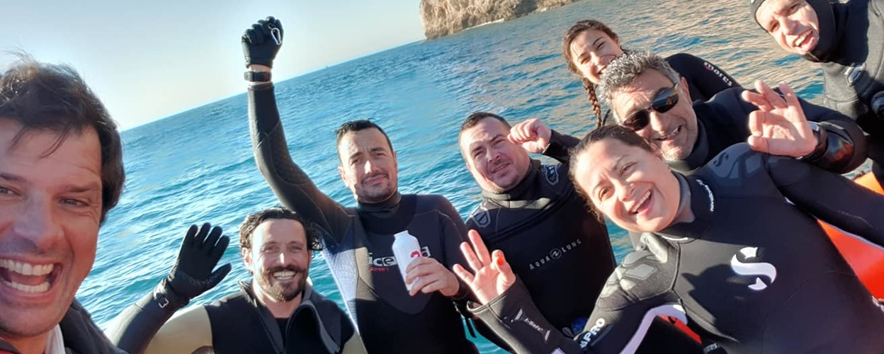 First time eco-diving in Sesimbra
