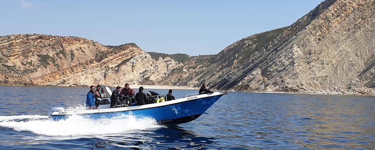 Boat tour to Cabo Espichel Cover