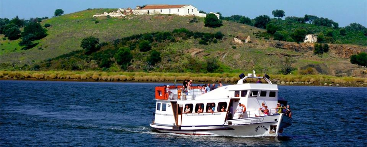 Full day Boat tour on Guadiana River with lunch Cover