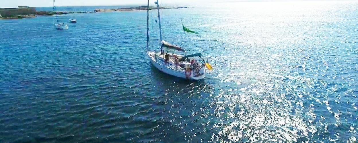 Cover for private sailing Alicante