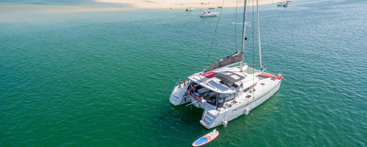 Full-day on a sailing catamaran in Lagos Cover