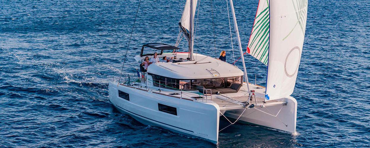 Barcelona catamaran