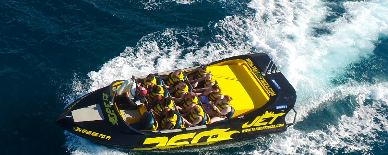 Cover for Jet Boat Ibiza