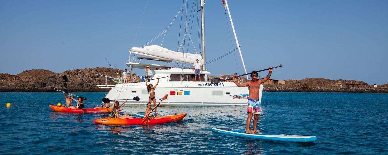Full day boat trip Fuerteventura