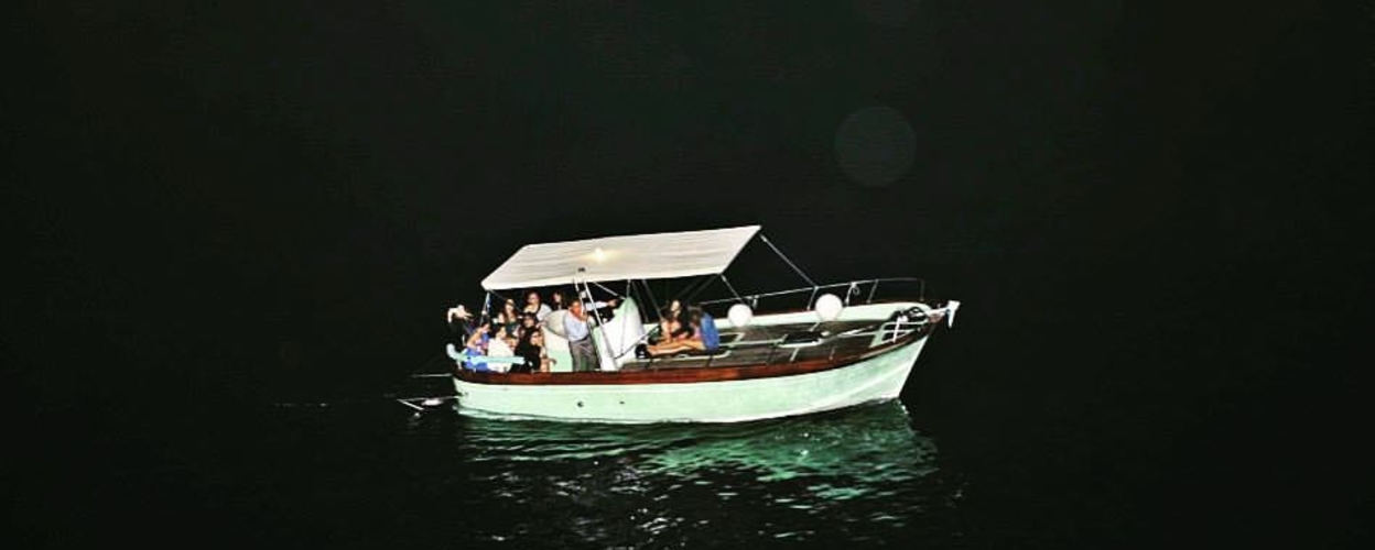 Charter at night on the Amalfi Coast Cover