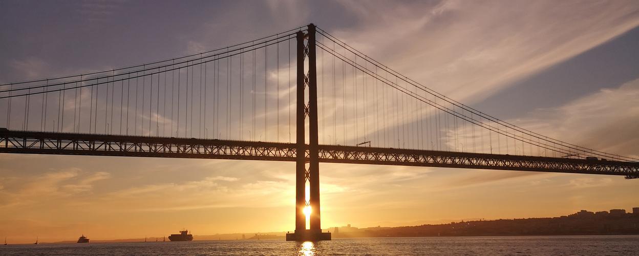 Cover for Sunset catamaran tour in Lisbon