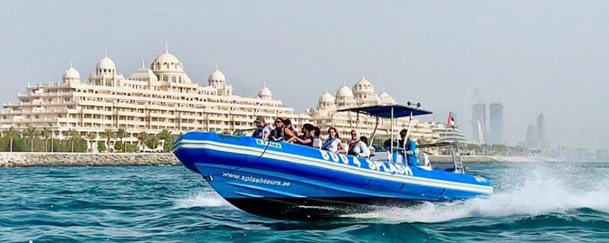 speedboat tour in Dubai