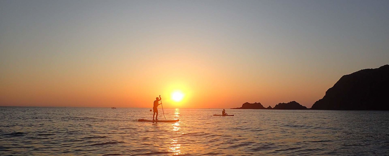 SUP Tour in Arrifana sunset