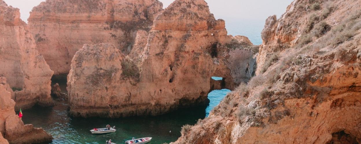 Grotto trip Ponta da Piedade