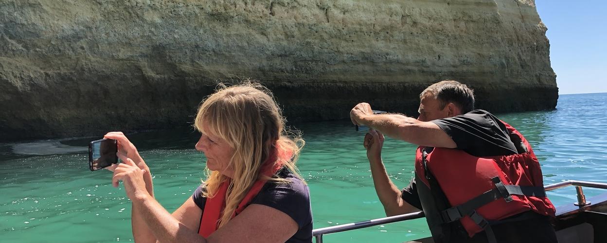 Benagil cave trip from Portimão