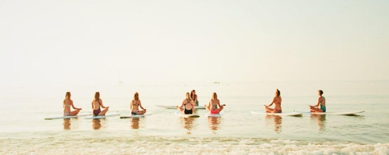 SUP Yoga in Lagos