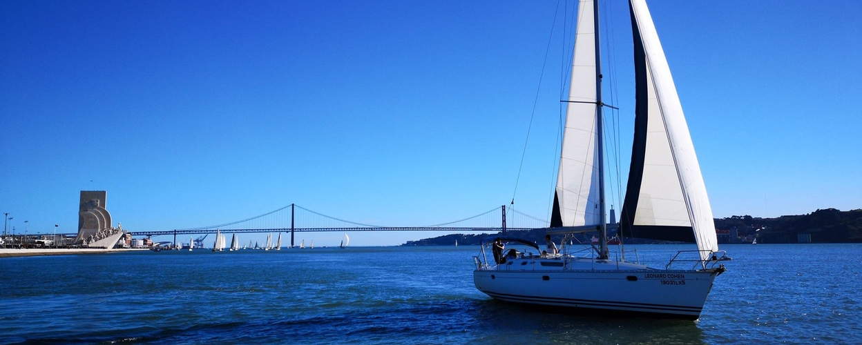 Sailing in Lisbon