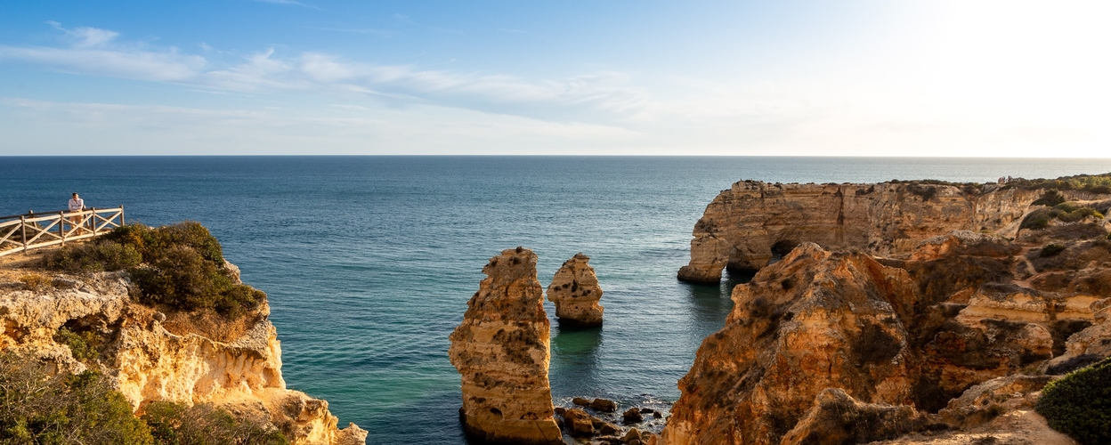 Explore the Algarve coast by foot and boat