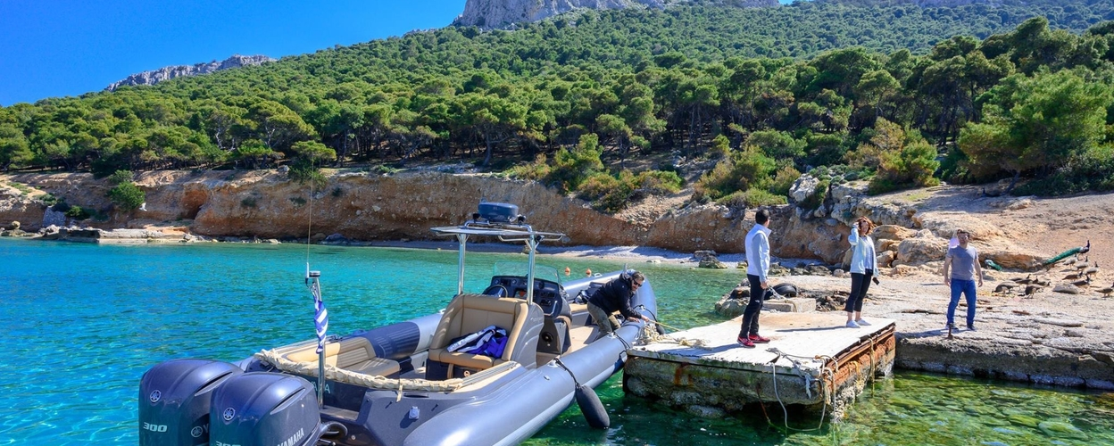 Private boat tour in Athens Cover
