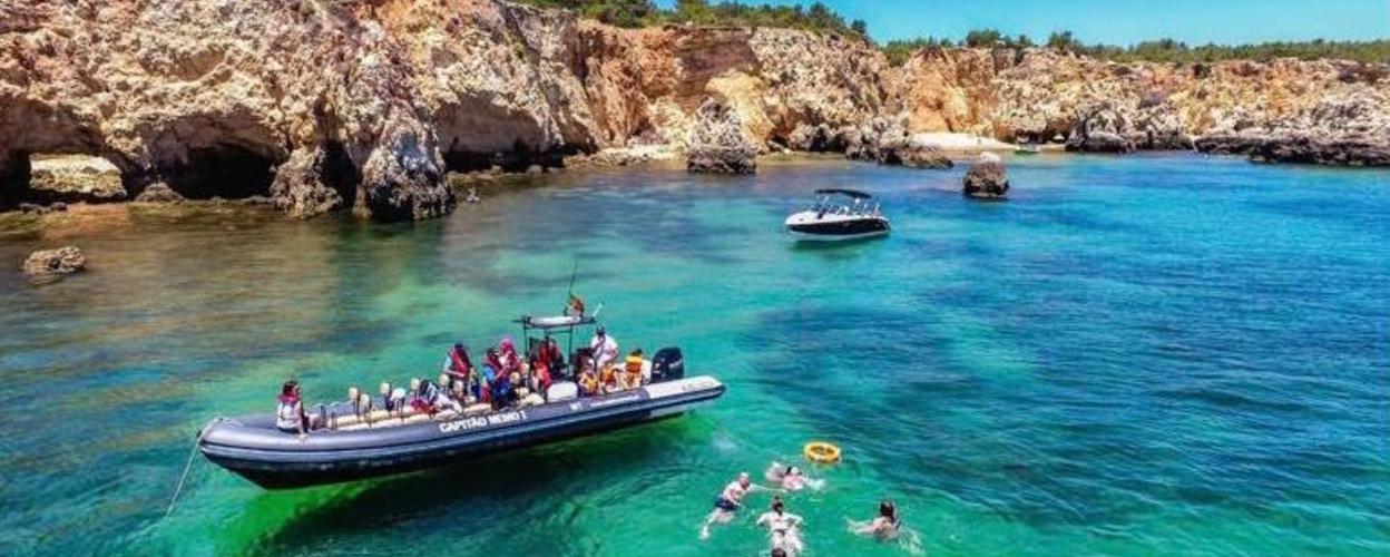 Benagil and dolphins tour from Portimão Cover