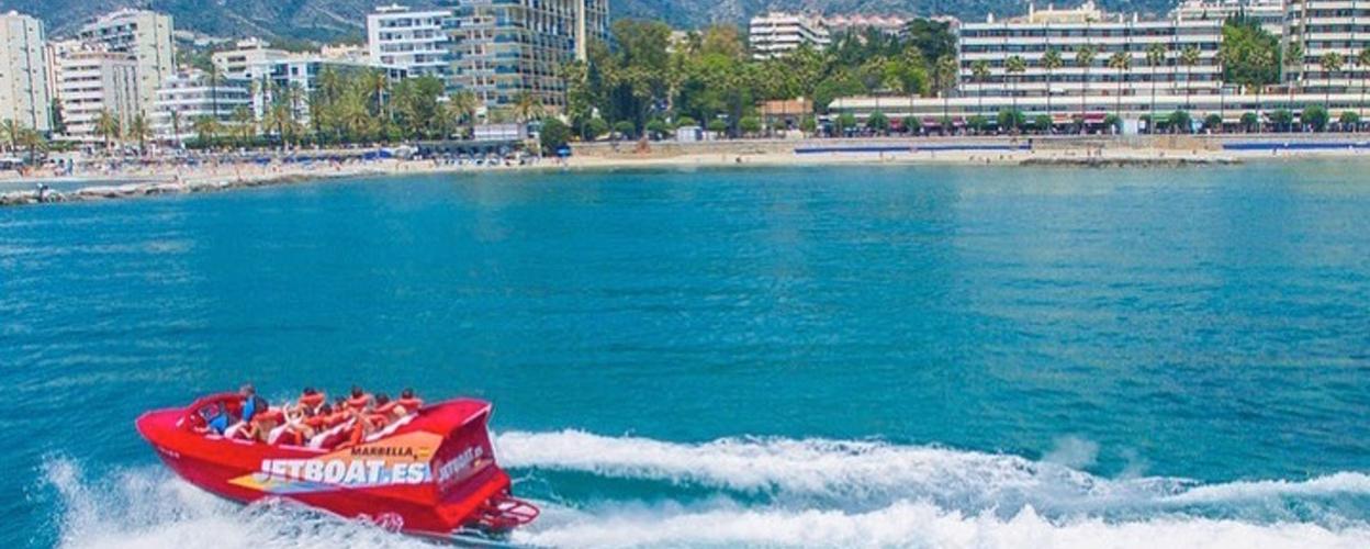 Jetboat in Marbella