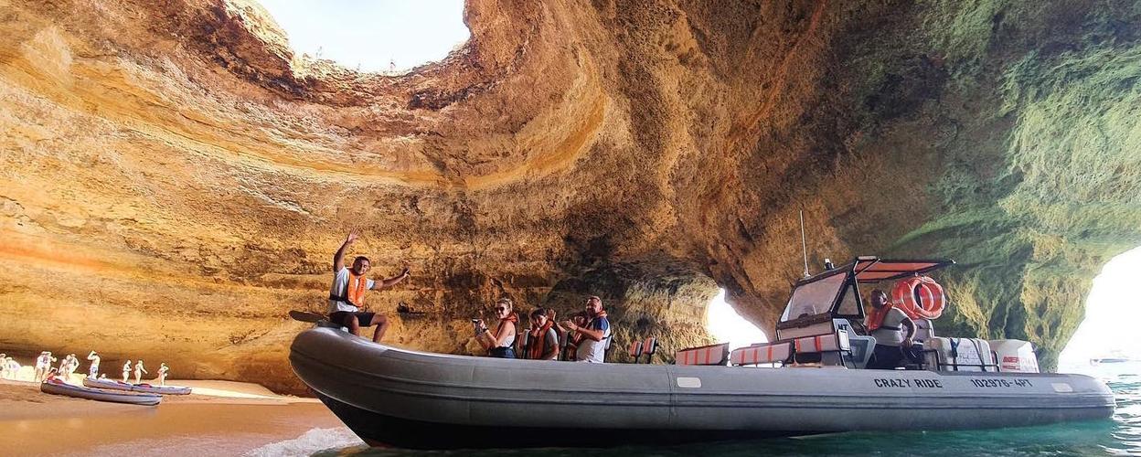 Benagil Speedboat tour from Lagos