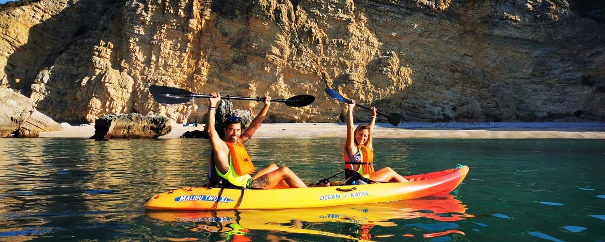 Kayaking in Sesimbra