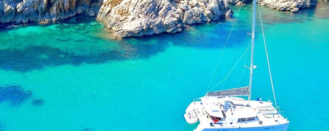 Full day catamaran charter in Ibiza