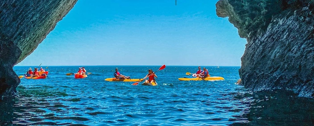Kayak and hiking tour in Sintra