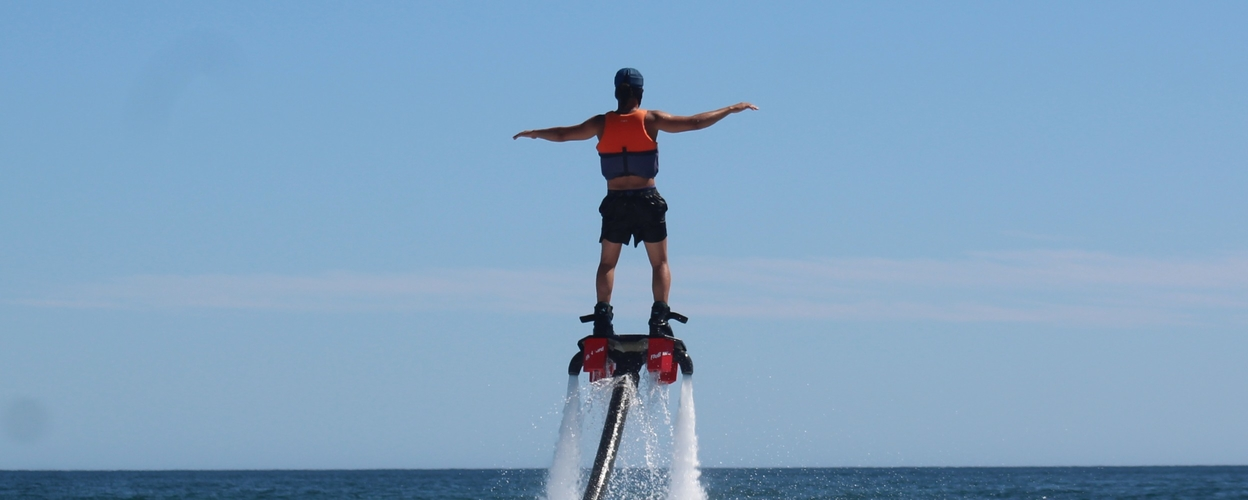 Flyboard in Armação de Pêra Cover