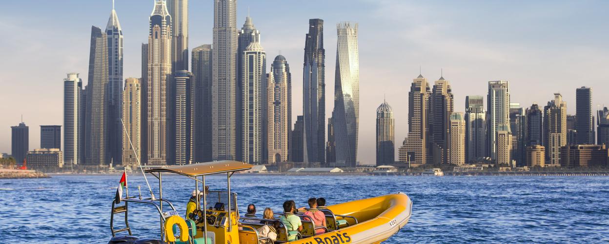 1 hour Dubai sunset cruise