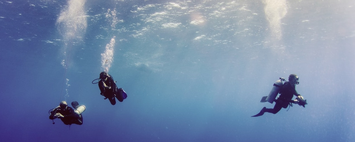 Scuba diving in Portimão