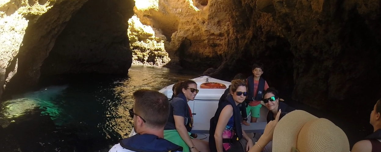 Ponta da Piedade cave trip in Lagos