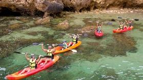 Cover for Boat + kayak tour to Ponta da Piedade
