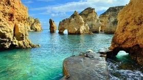 Enjoy the view over the coastline