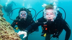 Cover for diving course in Santa Pola