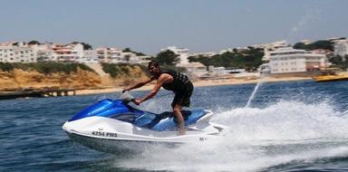 Jetski from Albufeira Algarve