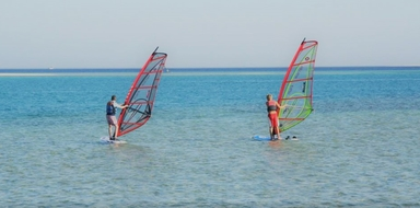 Cover for Learn windsurfing in Luz - Lagos