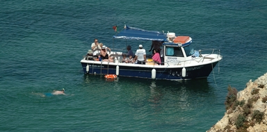 Cover for Fun boat tour in Alvor