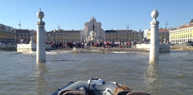 Cover for Historical boat tour in Lisbon by speedboat
