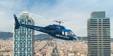 Cover for Helicopter & boat trip in Barcelona
