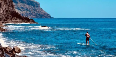 Cover for Stand-up paddle in Tenerife