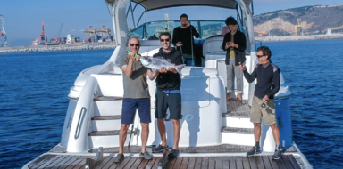 Cover for Private boat tour with fishing in Barcelona