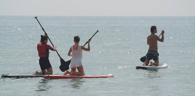 Cover for Stand-up paddle tour in Alicante