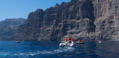Cover for The best water activities in Tenerife