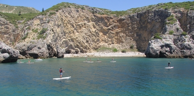 Cover for SUP tour in Sesimbra