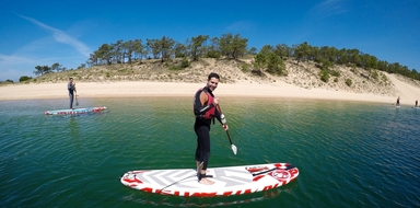 Cover for SUP in Lagoa de Albufeira
