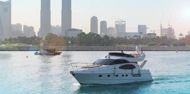 Cover for Half day boat rental in Dubai