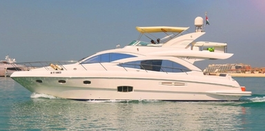 Cover for Luxury yacht rental in Dubai